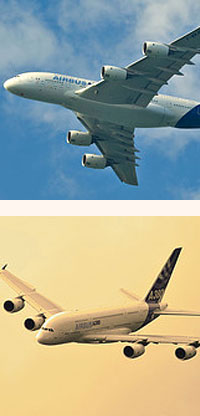 Airbus A380 information