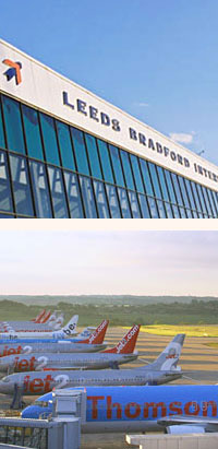 flights from leeds bradford