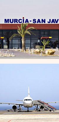 murcia flights
