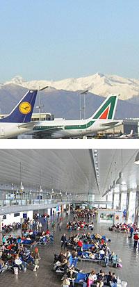 flights to turin